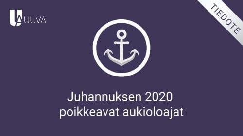 Juhannus 2020