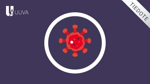 Huomioimme koronaviruspandemian vaikutukset cover