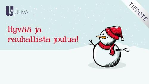 """Featured image for """"Joulun ja uuden vuoden 2020 poikkeavat aukioloajat"""""""