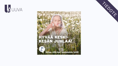 """Featured image for """"Juhannuksen poikkeavat aukioloajat 2021"""""""